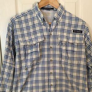 Columbia Men's PFG Long Sleeve Fishing Shirt